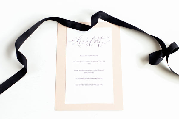 London Calligraphy Studio | Weddings & Events Calligraphy Invitations