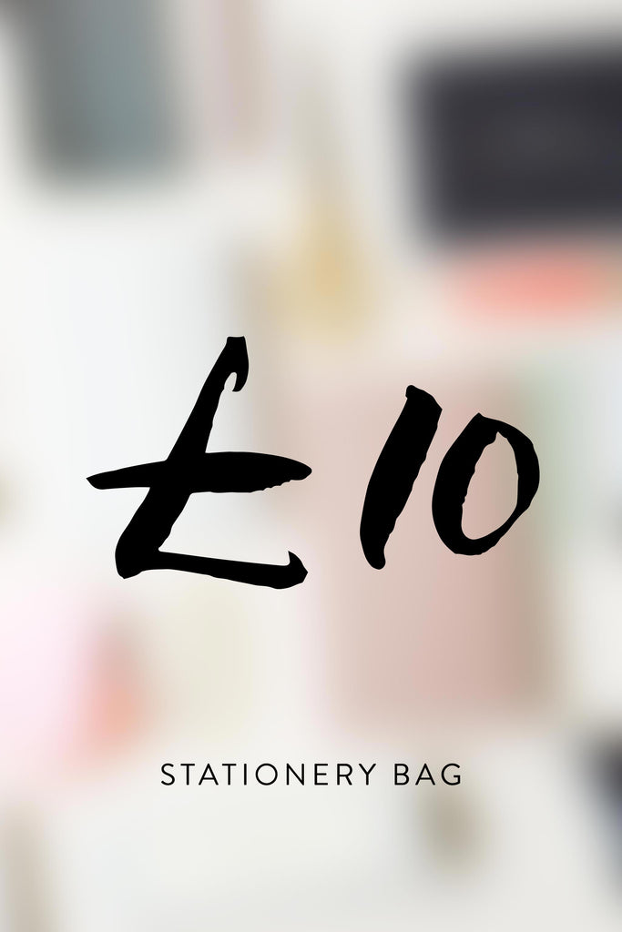 £10 - Stationery Lucky Bag