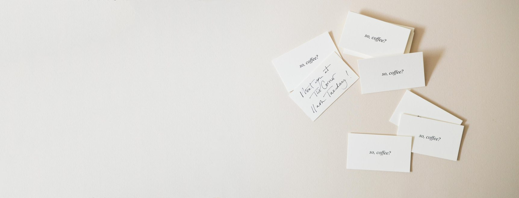 Correspondence | Handwritten Notes, Notcards, Envelopes & Personalised Stationery | Quill London
