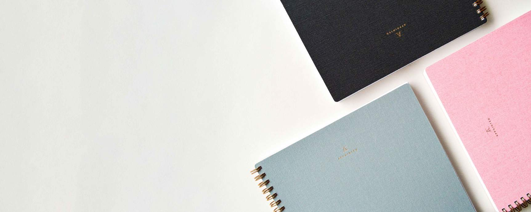 Quill London | Notebooks | Appointed Co Notebooks