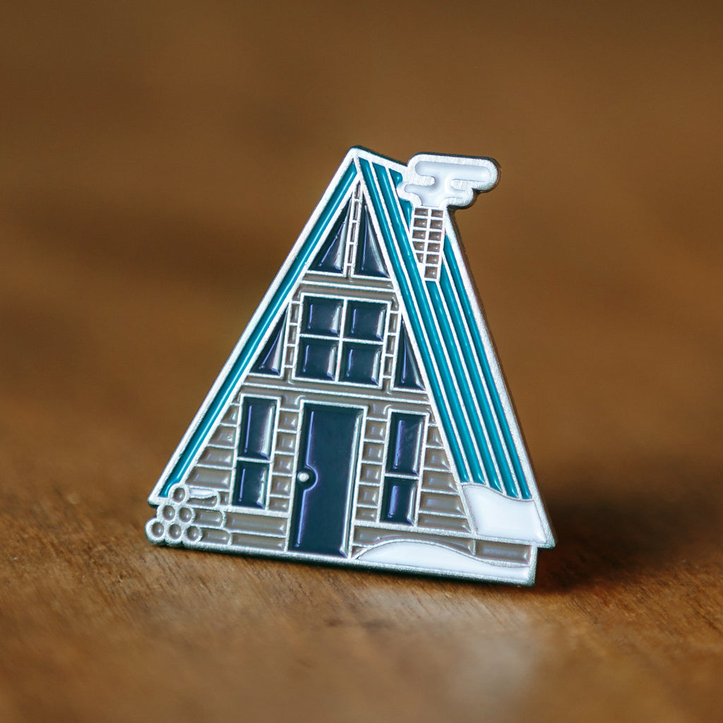 Lost Lust Supply - Winter A-Frame Cabin Pin