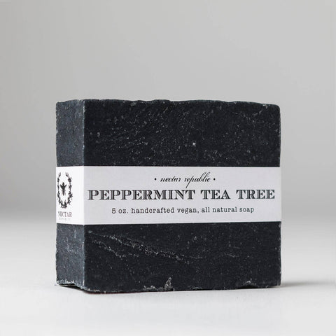 Nectar Republic - Peppermint Tea Tree : Bath Soap