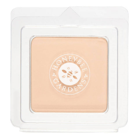 Honeybee Gardens Natural Cosmetics & Body Care - Pressed Mineral Powder Foundation, Super Natural