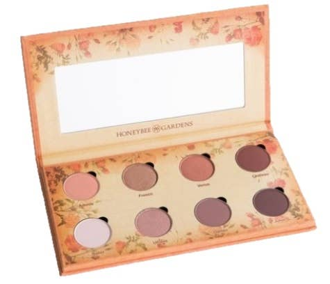 Honeybee Gardens Natural Cosmetics & Body Care - Nude Renaissance Refillable Eye Shadow Palette