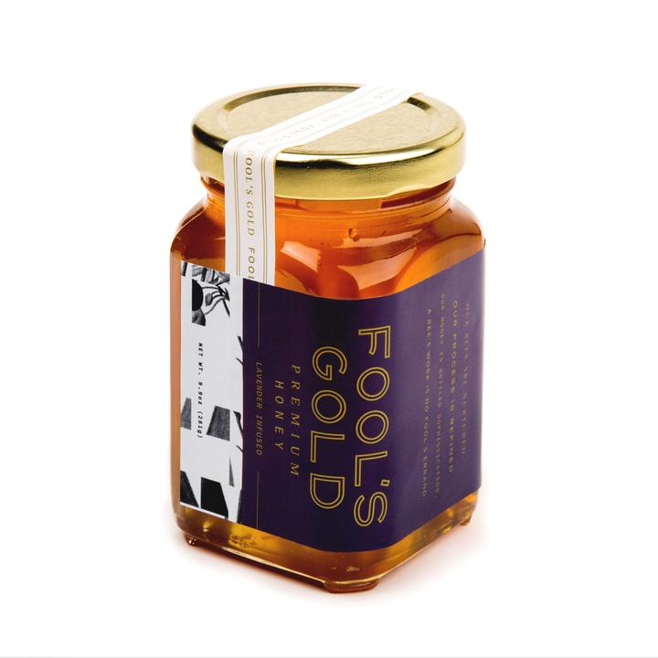 Fool's Gold Honey Company - 5.75oz Lavender Infused Honey
