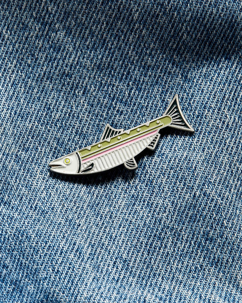 Lost Lust Supply - Steelhead Salmon Pin
