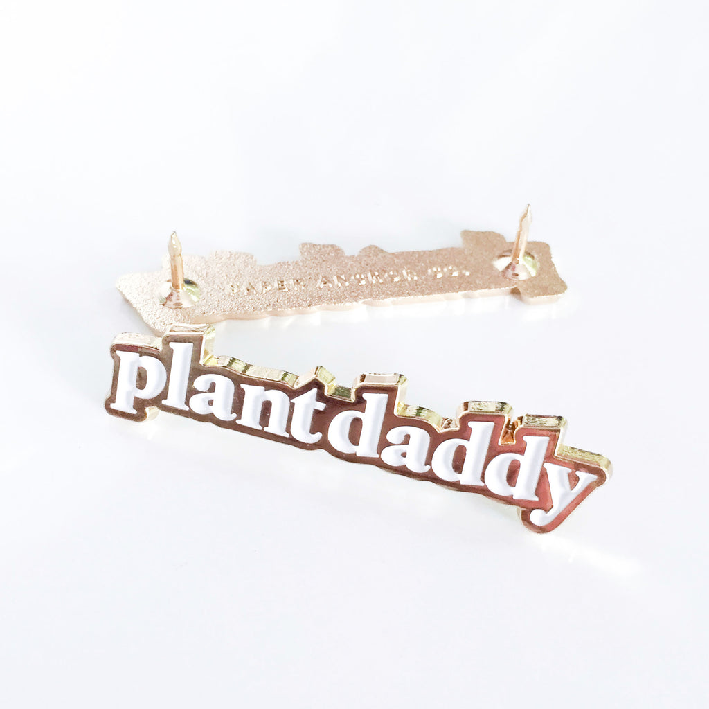 Paper Anchor Co. - Plant Daddy Lapel Pin