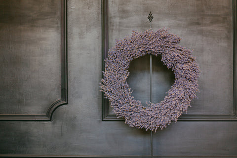 Lavender Wreath Workshop June 20, 2020 | 2 PM
