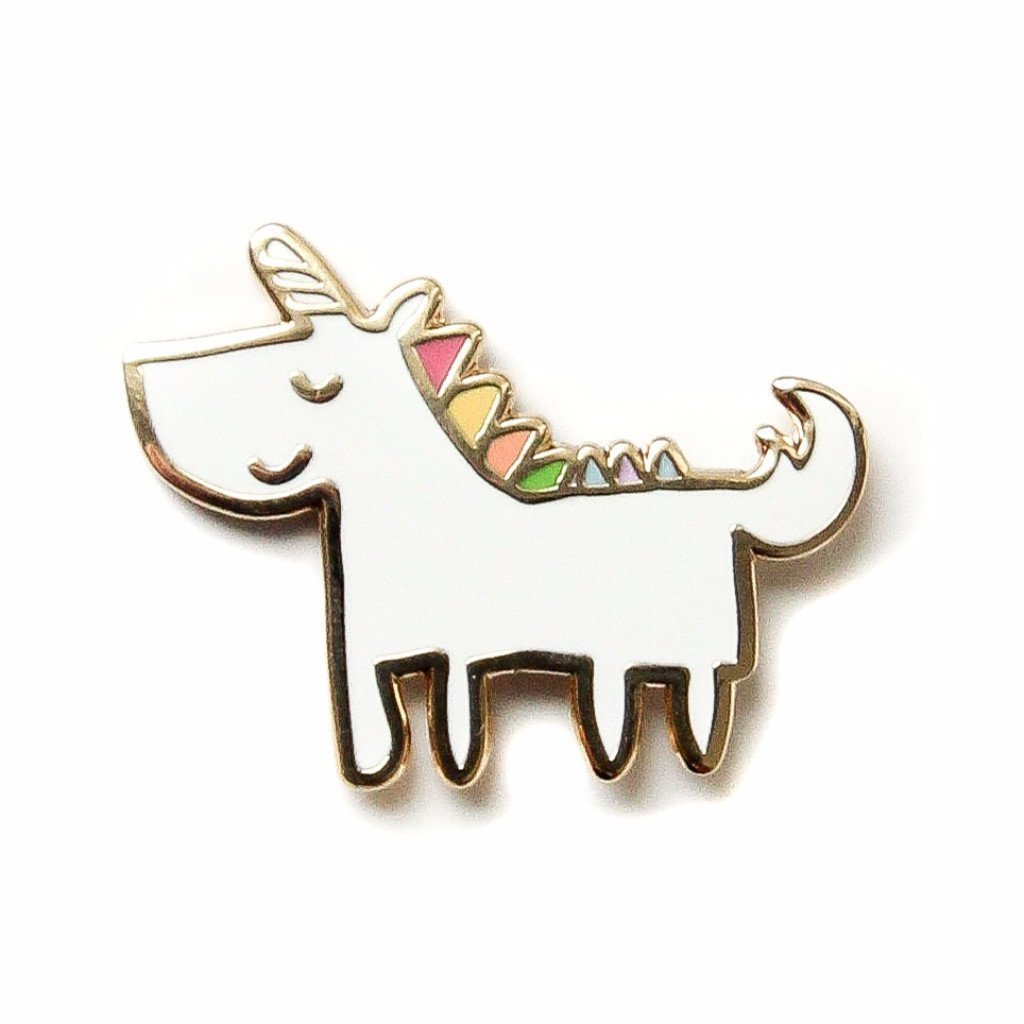 The Penny Paper Co. - Enamel Pin, Unicorn