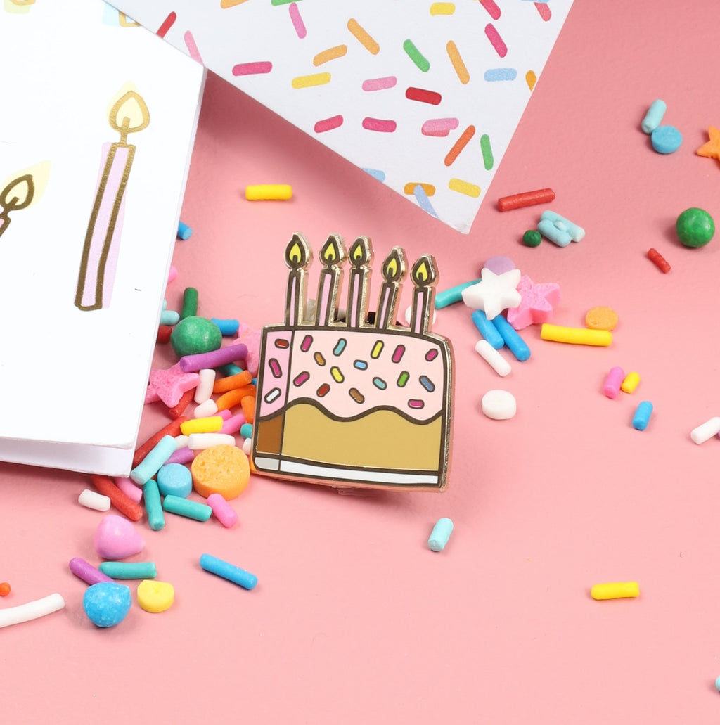 The Penny Paper Co. - Enamel Pin, Cake No. 2