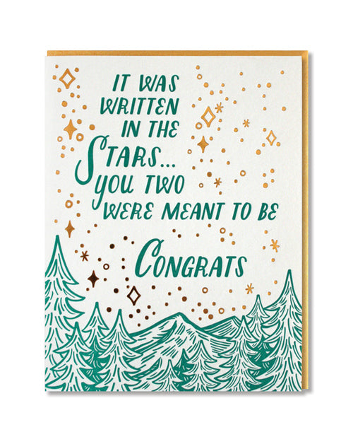 Paper Parasol Press - Written in the Stars Card