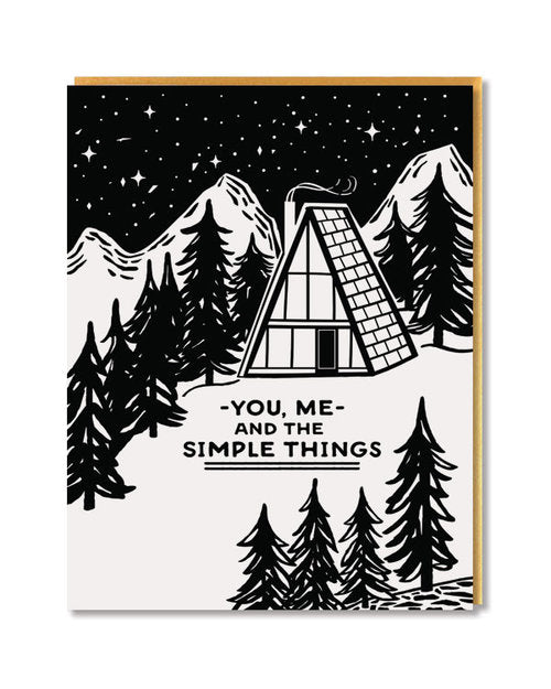 Paper Parasol Press - Simple Things Card