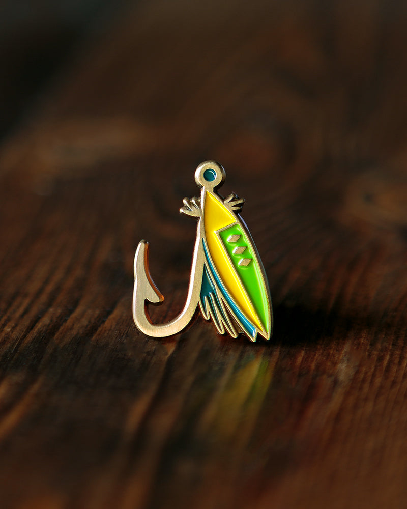 Lost Lust Supply - Fishing Lure Pin