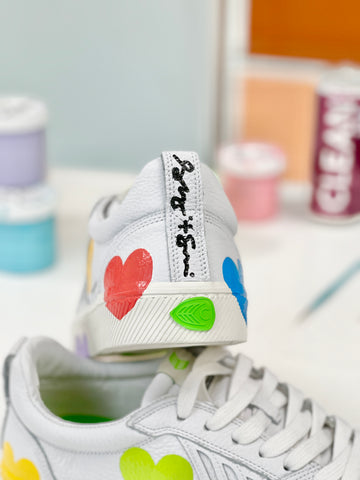 Customized Sneakers Celebrating Addiction Recovery