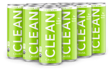 Load image into Gallery viewer, 8.4oz Lemon Lime CLEAN - 12 Pack