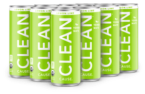 8.4oz Lemon Lime CLEAN - 12 Pack