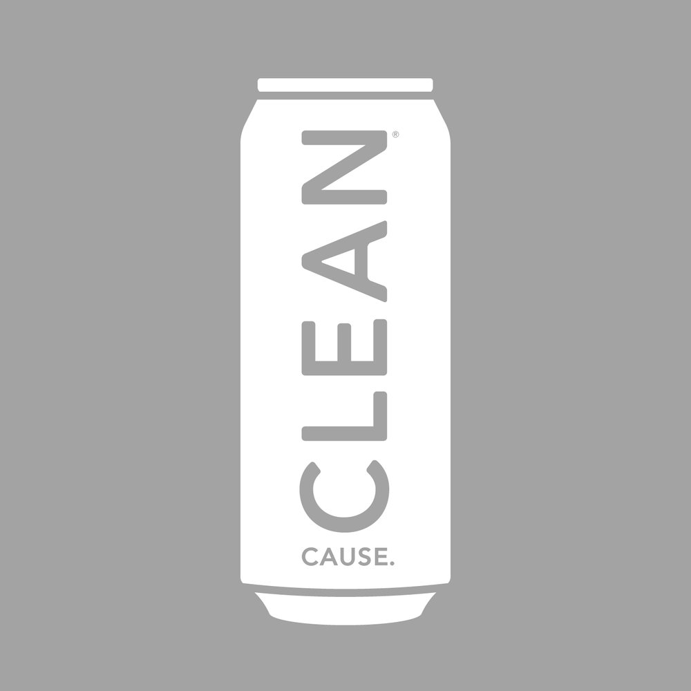 CLEAN Cause Can Window Decal