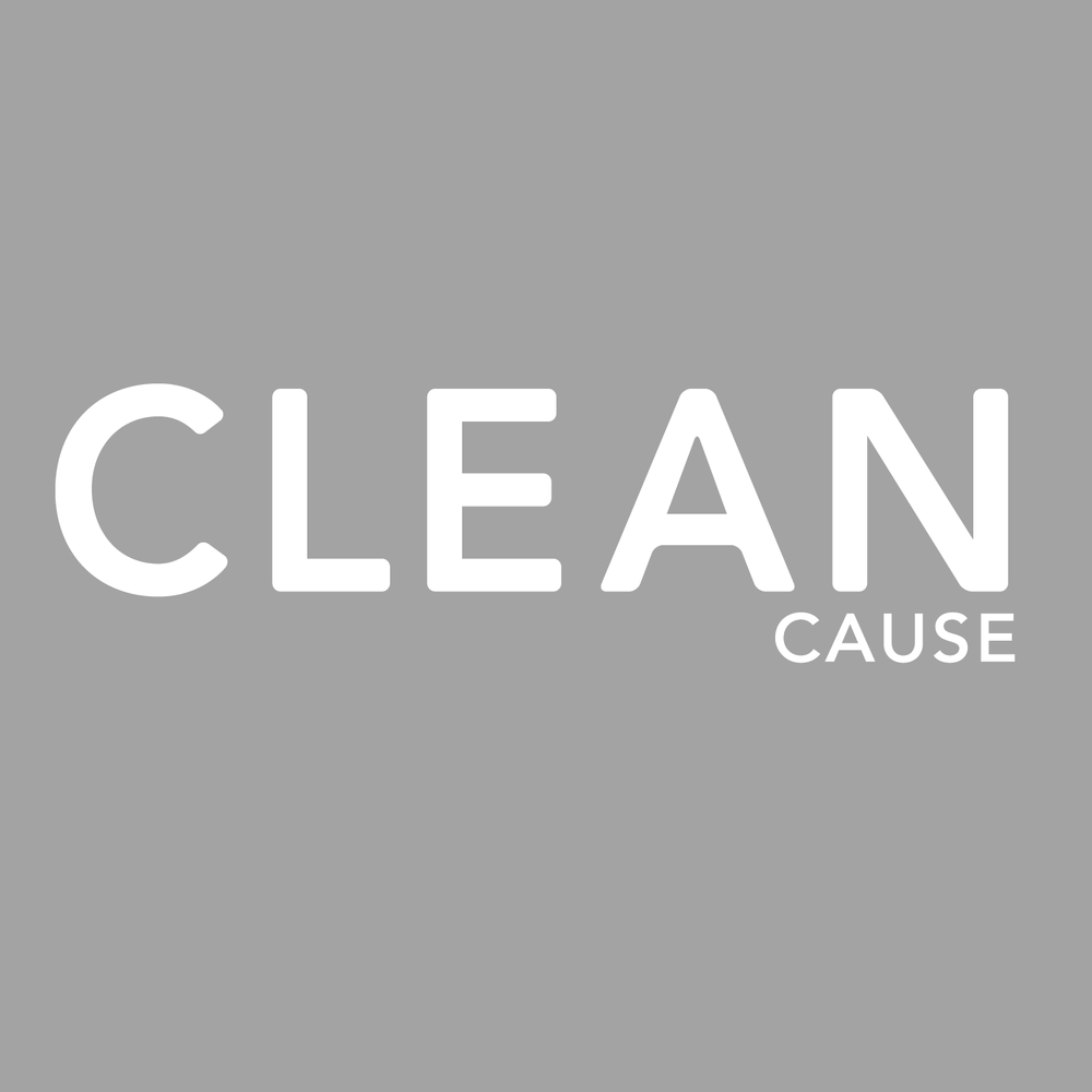 CLEAN Cause Logo Window Decal
