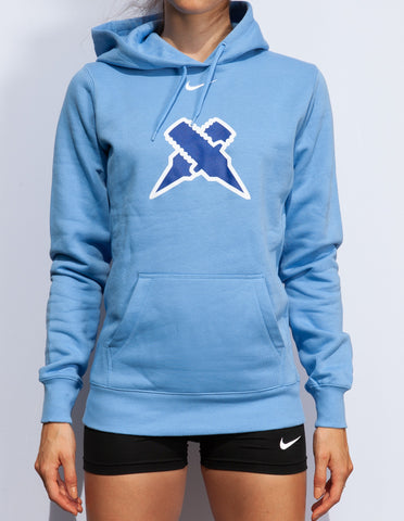 Women's Nike AC Track Spikes Fleece Training Hoodie