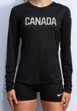Women's Nike Run Team Canada Dri-FIT Long Sleeve