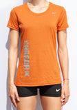 Women's Nike AC Track Spikes Legend Short-Sleeve Training Top