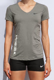 Nike Women's Pro Combat Fitted Athletics Canada Short Sleeve