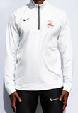 Nike Men's Dri-FIT Half Zip White