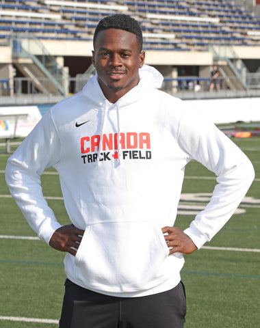 Men's Canada Track & Field Nike Fleece Hoodie