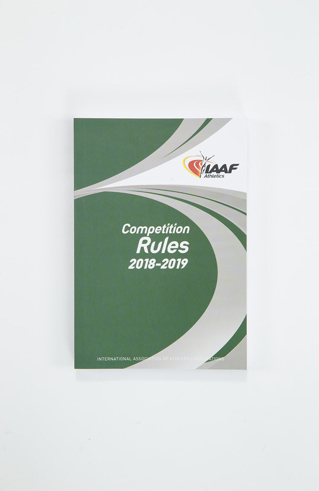 IAAF Competition Rules 2018-2019