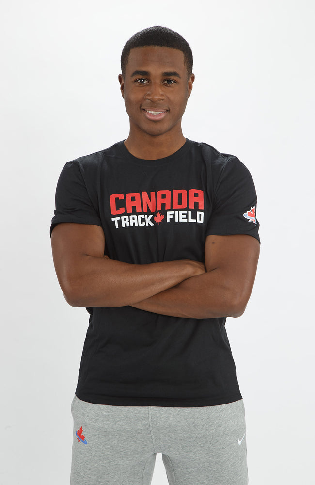 Men's Nike Canada Track & Field Short Sleeve Crew
