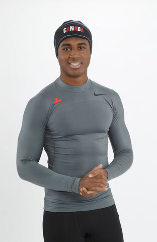 4affdc223c28 Men s Athletics Canada Nike Pro Hyperwarm Compression Mock ...