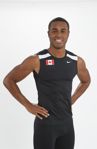 Men's Nike Power Race Day Tight Tank – Team Canada Edition