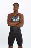 Men's Nike Vapor Team Canada Tank Unitard