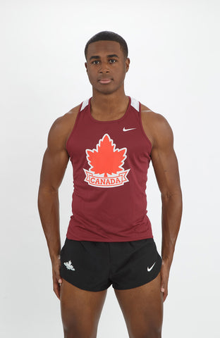 Men's Vintage Athletics Canada Nike Breathe Race Day Singlet