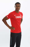 Nike Men's Team Canada Warm-Up Tee