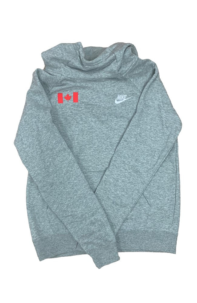 Women's Nike Canada Funnel-Neck Fleece Hoodie