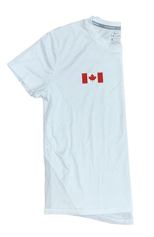 Women's Nike Canada Miler Short-Sleeve Running Top