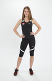 Women's Nike Power Race Day Capri – Team Canada Edition