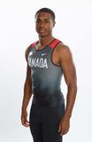Men's Nike Team Canada Replica Swift Singlet