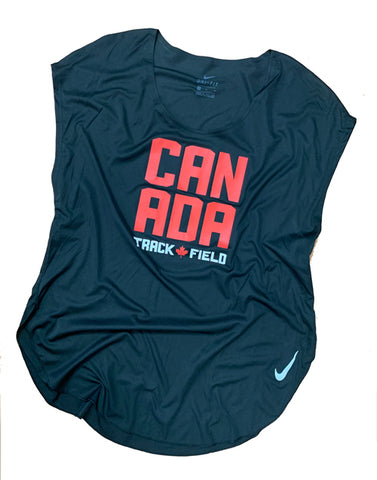 Women's Nike Canada Track & Field Short Sleeve Sleek Top