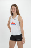 Women's Athletics Canada Nike Dry Tank