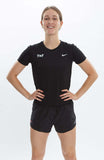 Women's Nike Canada Track & Field Miler Short-Sleeve Running Top