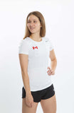 Women's Nike Legend Team Canada Warm-Up Tee