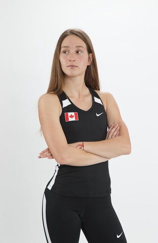 Women's Nike Power Race Day Tight Tank – Team Canada Edition