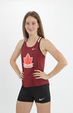 Women's Vintage Athletics Canada Nike Breathe Race Day Singlet