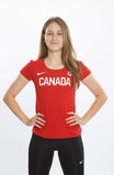 Nike Women's Team Canada Warm-Up Tee