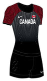 Women's Nike Vapor Team Canada Rio Olympic Short Sleeve Unitard
