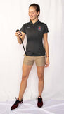 Women's Nike Athletics Canada Short Sleeve Coach Polo