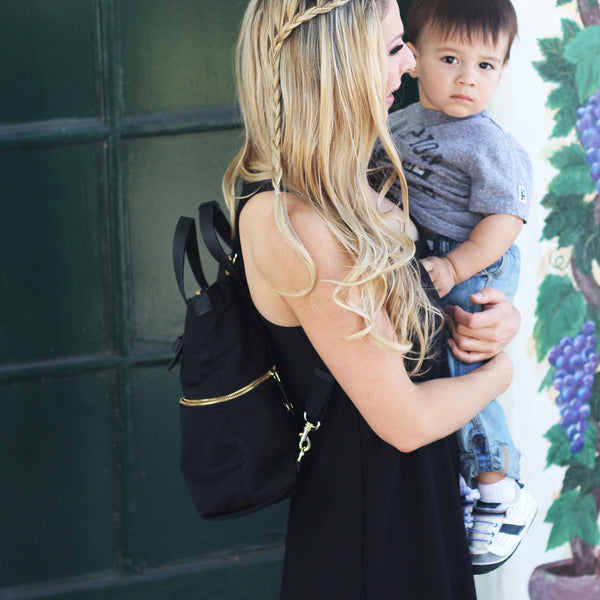 Our Go-To Backpack Diaper Bag