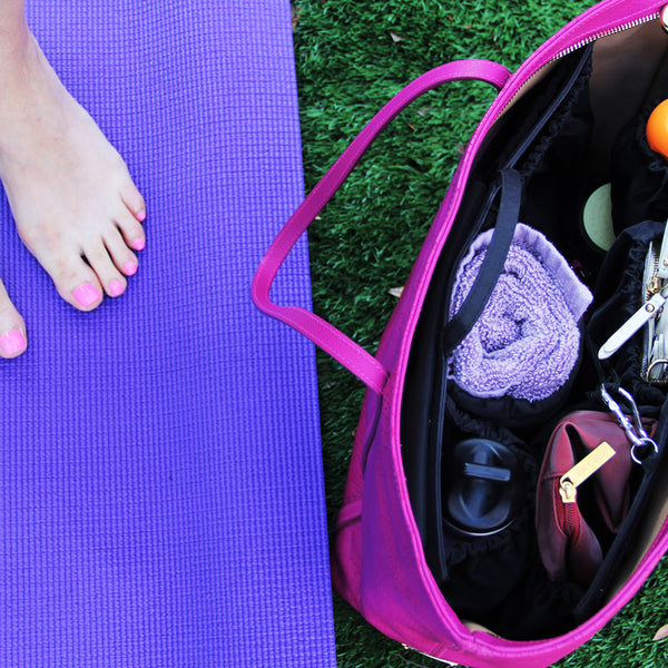 Using ToteSavvy as a Gym Bag Organizer